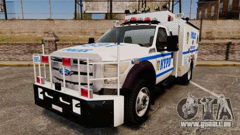 Ford F-550 2012 NYPD [ELS] für GTA 4