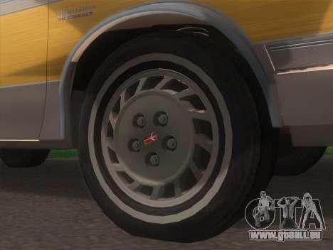 Oldsmobile Cutlass Ciera Cruiser pour GTA San Andreas sur la vue arrière gauche