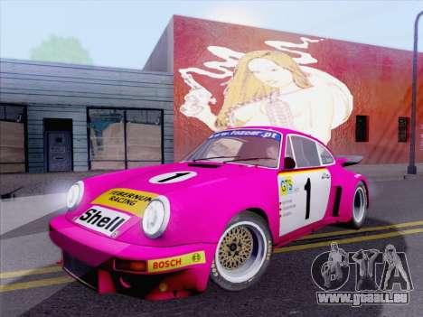 Porsche 911 RSR 3.3 skinpack 5 pour GTA San Andreas laissé vue