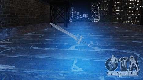 L'épée sacrée pour GTA 4 troisième écran