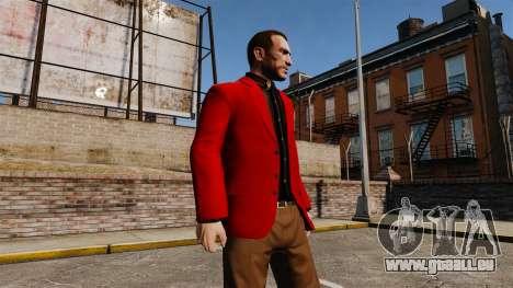 Veste rouge pour GTA 4 troisième écran