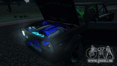 VAZ 2105 pour GTA 4 est un côté
