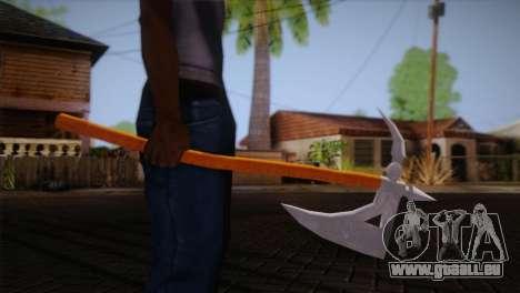 Hache de guerre d'Assassins Creed Brotherhood pour GTA San Andreas troisième écran