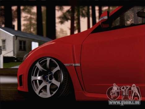 Subaru Impreza WRX STi pour GTA San Andreas vue de côté