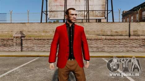 Rote Jacke für GTA 4