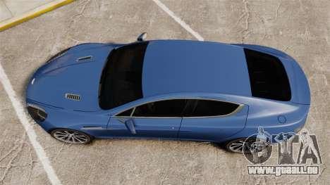 Aston Martin Rapide 2010 pour GTA 4 est un droit