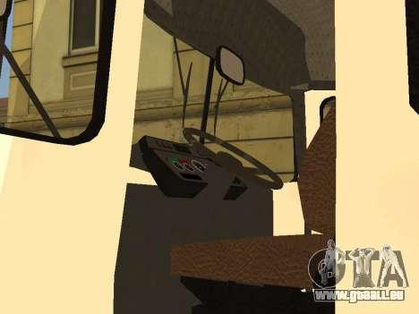 KAVZ 3976 für GTA San Andreas Rückansicht