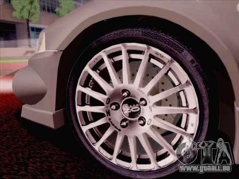 Mitsubishi Lancer Evolution VI LE für GTA San Andreas Innen