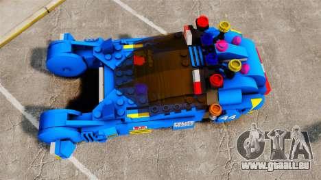 Lego Car Blade Runner Spinner [ELS] pour GTA 4 est un droit