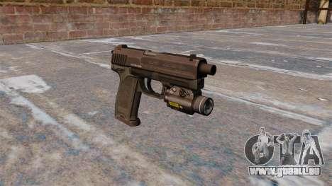 HK USP 45 Pistole MW3 für GTA 4