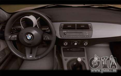 BMW Z4 Stance pour GTA San Andreas vue de droite