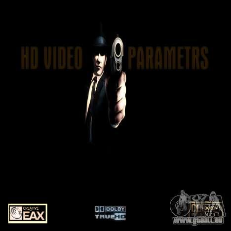Écran de démarrage de type mafieux pour GTA San Andreas deuxième écran