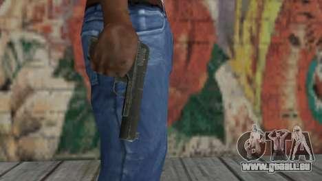 Pistolet TT pour GTA San Andreas deuxième écran