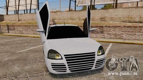 VAZ-2170 Lada Priora Turbo für GTA 4 Unteransicht
