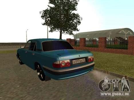 GAZ 3110 Wolga für GTA San Andreas rechten Ansicht