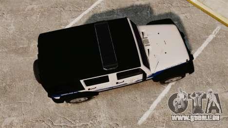 Jeep Wrangler Rubicon Police 2013 [ELS] für GTA 4 rechte Ansicht