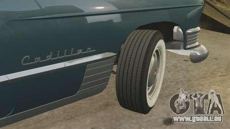 Cadillac Series 62 1949 pour GTA 4 est une vue de dessous