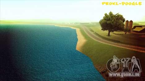 Eau HD pour GTA San Andreas