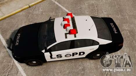 GTA V Vapid Police Interceptor LSPD pour GTA 4 est un droit