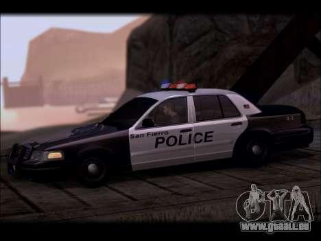 Ford Crown Victoria 2005 Police für GTA San Andreas linke Ansicht