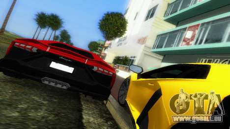 Lamborghini Aventador LP720-4 50th Anniversario pour GTA Vice City vue latérale
