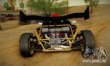Ariel Atom 500 2012 V8 pour GTA San Andreas vue de droite