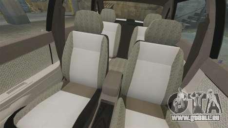 Lada Priora für GTA 4 Unteransicht