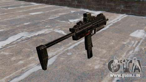 Pistolet mitrailleur MP7 pour GTA 4 secondes d'écran
