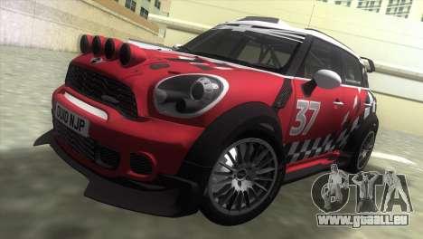 Mini Countryman WRC pour GTA Vice City