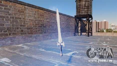 L'épée sacrée pour GTA 4 secondes d'écran