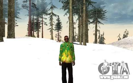 Sotschi 2014-Jacke für GTA San Andreas