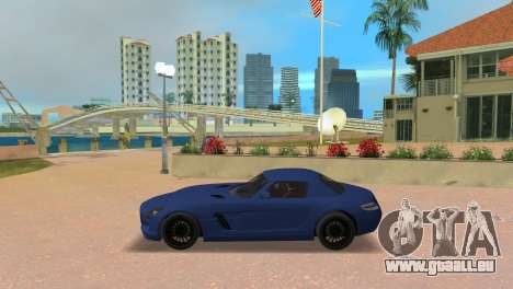 Mercedes-Benz SLS AMG V12 für GTA Vice City linke Ansicht