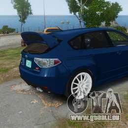 Subaru Impreza WRX STi 2010 für GTA 4 linke Ansicht