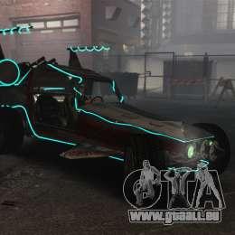 GTA V Space Docker pour GTA 4 Vue arrière