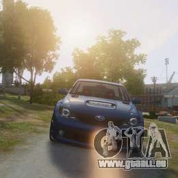 Subaru Impreza WRX STi 2010 pour GTA 4
