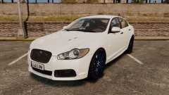 Jaguar XFR 2010 Police Unmarked [ELS]