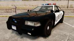 GTA V Vapid Steelport Police Cruiser [ELS]
