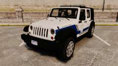 Jeep Wrangler Rubicon Police 2013 [ELS]