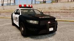 GTA V Vapid Police Interceptor LSPD
