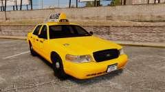 Ford Crown Victoria 1999 LCC Taxi für GTA 4