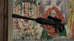 Snajperckaâ fusil noir pour GTA San Andreas