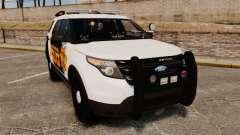 Ford Explorer 2013 Longwood Police [ELS] für GTA 4