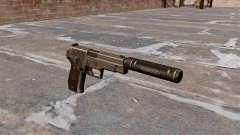SIG-Sauer P226 Pistole mit Schalldämpfer