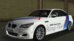 BMW M5 (E60) 2009 Nurburgring Ring Taxi pour GTA Vice City