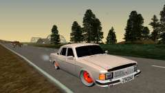 GAZ 3102 Haltung