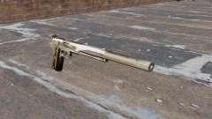 Das AMT Hardballer halbautomatische Pistole