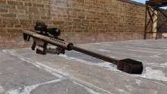 Die Barrett M82 Sniper Gewehr 50 Cal