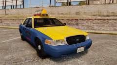 Ford Crown Victoria 1999 GTA V Taxi für GTA 4