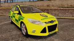 Ford Focus ST Estate 2012 [ELS] London Ambulance