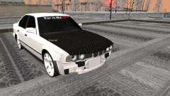 BMW 535i noir pour GTA San Andreas